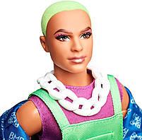 Колекційна лялька Барбі Barbie BMR1959 Кен Неон GHT96, фото 5