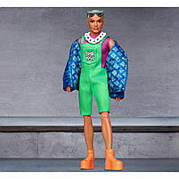 Колекційна лялька Барбі Barbie BMR1959 Кен Неон GHT96, фото 6