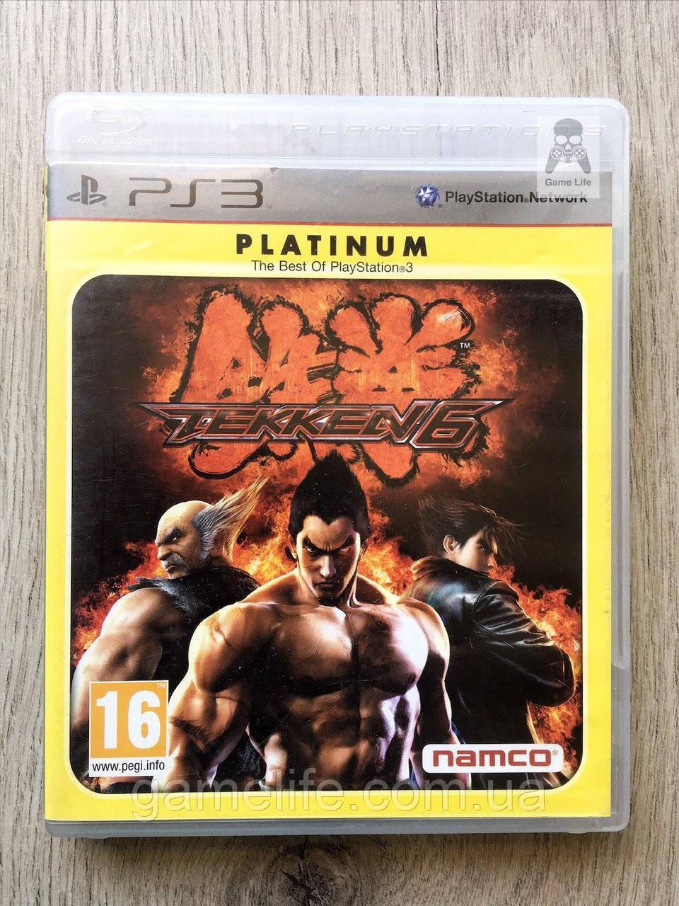 Tekken 6 (рус. суб.) (б/у) PS3