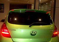 Hyundai I-20 2008-2012 гг. Спойлер (под покраску)