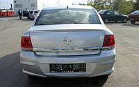 Opel Astra H 2004-2013 гг. Спойлер Sedan (под покраску)