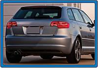 Audi A3 2012↗ гг. Кромка багажника (нерж)