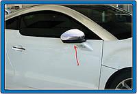 Peugeot RCZ 2010↗ гг. Накладки на зеркала (2 шт, нерж)