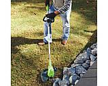 Садовый аккумуляторный триммер Greenworks  40 V модель 21302  с  АКБ 2 Ач и ЗУ, фото 8