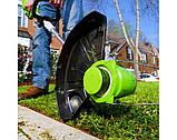 Садовый аккумуляторный триммер Greenworks  40 V модель 21302  с  АКБ 2 Ач и ЗУ, фото 9