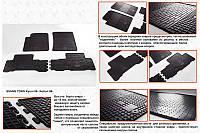 SsangYong Kyron 2008↗ гг. Резиновые коврики (4 шт, Stingray Premium)
