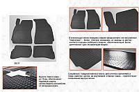 Skoda Superb 2001-2009 гг. Резиновые коврики (4 шт, Stingray Premium)