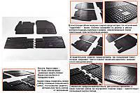 Toyota Auris 2012-2015 гг. Резиновые коврики (4 шт, Stingray Premium)