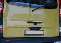 Nissan Primastar 2002-2014 гг. Хром на заднюю ручку (Ляда, нерж)