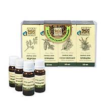 Набор эфирных масел для сауны и бани Flora Secret Хвойный 4 по 10 мл (F155)
