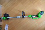Садовый аккумуляторный триммер Greenworks  40 V модель 21302  с  АКБ 2 Ач и ЗУ, фото 4