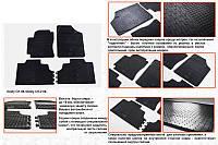 Geely CK-1 Резиновые коврики (4 шт, Stingray Premium)
