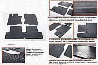Honda Accord VIII 2008-2012 гг. Резиновые коврики (4 шт, Stingray Premium)