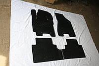 Kia Sportage 2004-2010 гг. Резиновые коврики (4 шт, Stingray Premium)