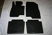 Mazda 6 2013↗ гг. Резиновые коврики (4 шт, Stingray Premium)