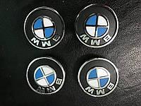BMW X5 E-70 2007-2013 гг. Колпачки в титановые диски V1 (4 шт) 64,5 мм