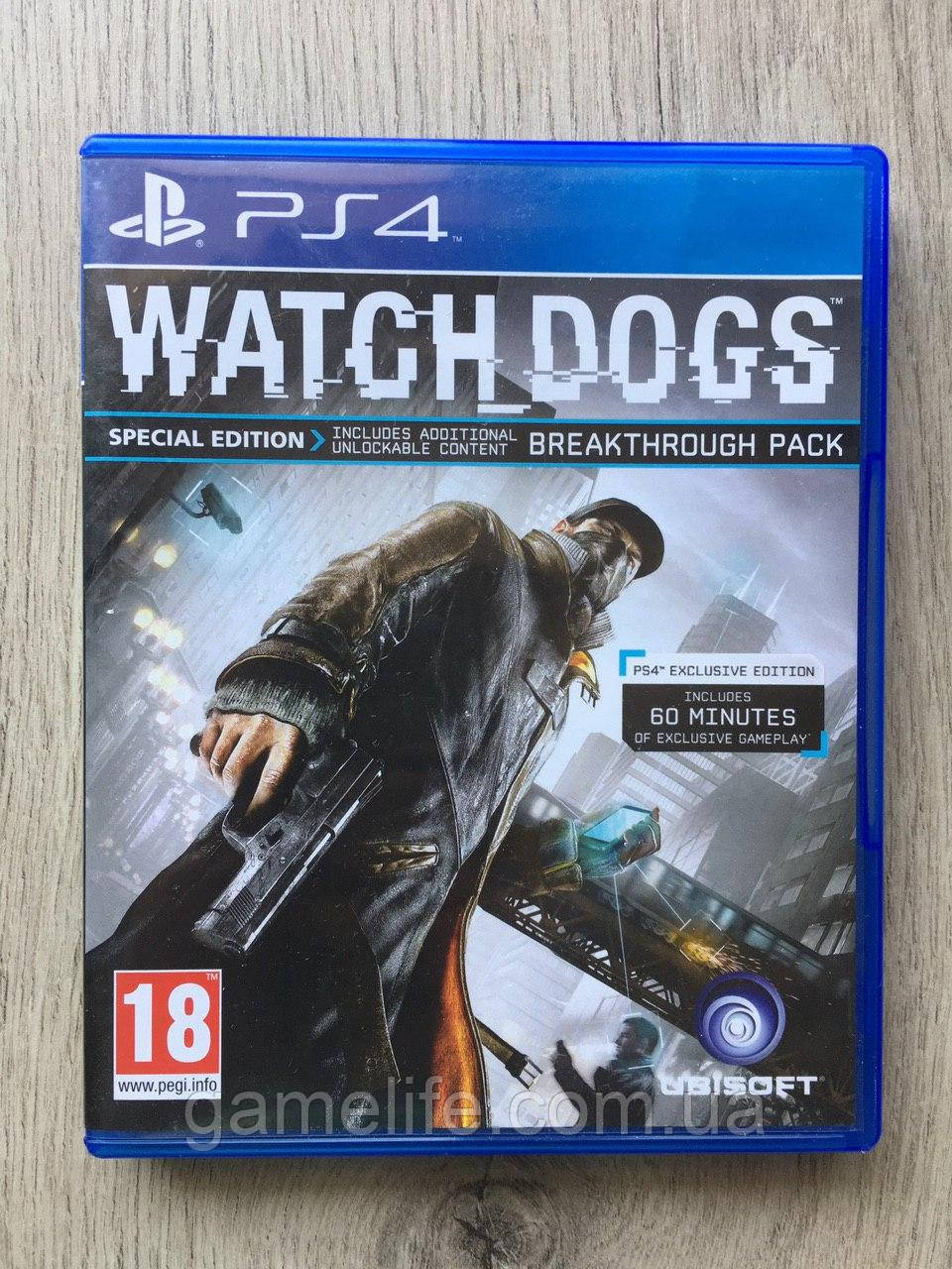 Watch Dogs (рус.) (б/у) PS4