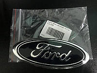 Ford Courier 2014↗ гг. Эмблема Ford (самоклейка) 147мм на 60мм, 1 штырь