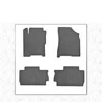 Chery A13 Резиновые коврики (4 шт, Stingray Premium)