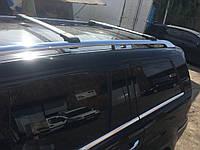 Mercedes GL klass X164 Перемычки на рейлинги под ключ (2 шт) Черный