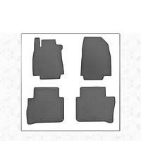 Nissan Tiida 2011-2014 гг. Резиновые коврики (4 шт, Stingray Premium)