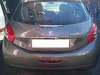 Peugeot 208 Хром планка над номером (нерж)