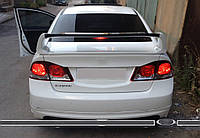 Honda Civic Sedan VIII 2006-2011 гг. Спойлер RR-Type (под покраску)