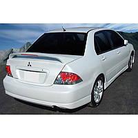Mitsubishi Lancer 9 2004-2008 гг. Спойлер (под покраску)