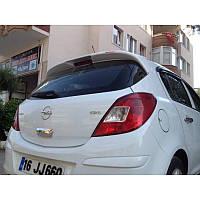Opel Corsa D 2007↗ гг. Спойлер (под покраску)