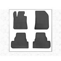 Peugeot 308 2014↗ гг. Резиновые коврики (4 шт, Stingray Premium)
