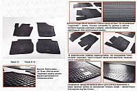 Skoda Roomster 2007↗ гг. Резиновые коврики (4 шт, Stingray Premium)
