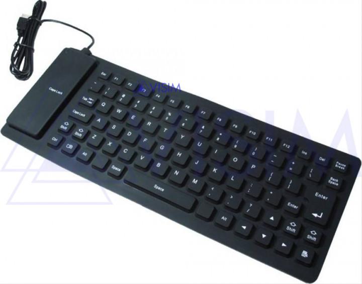 Гибкая клавиатура Flexible Keyboard 6966