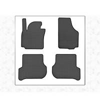 Seat Altea 2004↗ гг. Резиновые коврики (4 шт, Stingray Premium)