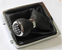 Volkswagen Passat B6 2006-2012 гг. Ручка и чехол КПП (6 ступка)