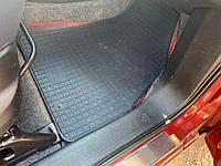 Fiat Fiorino/Qubo 2008↗ гг. Резиновые коврики (Polytep) 4 шт, легкий запах резины