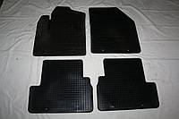 Ford Connect 2006-2009 гг. Резиновые коврики (4 шт, Polytep)