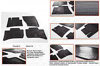 Porsche Macan 2014↗ гг. Резиновые коврики (4 шт, Stingray Premium)