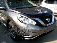 Nissan Murano 2014↗ гг. Дефлектор капота (SIM)