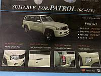 Nissan Patrol Y61 1997-2011 гг. Хром пакет (2006-2011, комплект)