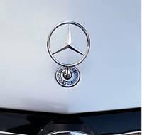 Mercedes W123 Прицел на капот