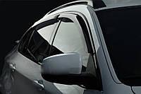 Volkswagen Touareg 2018+ гг. Ветровики (4 шт, SIM)