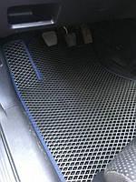 Honda CRV 2007-2011 гг. Полиуретановые коврики (EVA, черные)