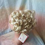 Шиньон-накладка короткий на гребешках блондин  988-613, фото 3