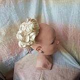 Шиньон-накладка короткий на гребешках блондин  988-613, фото 5