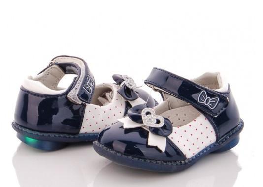 Туфли детские синие,туфли на девочку BBT-F30-5