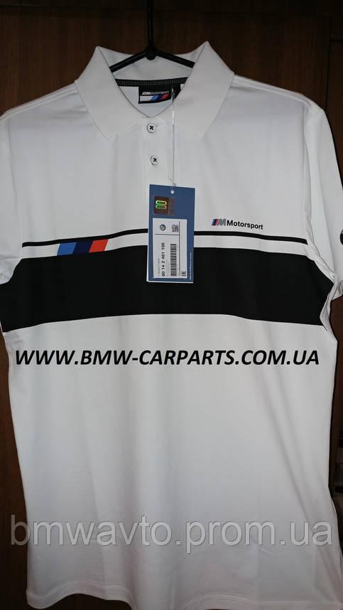 Мужская рубашка-поло BMW M Motorsport Polo-Shirt, Men 2019, фото 2