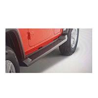 Jeep Wrangler 2018↗ гг. Боковые подножки (2 шт)