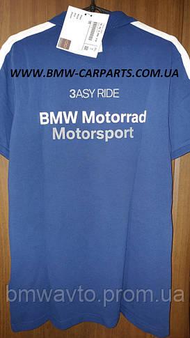 Мужская футболка-поло BMW Motorrad Motorsport Polo-shirt 2019, фото 3