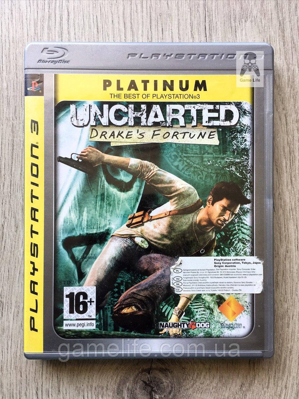 Uncharted (англ.) (б/у) PS3