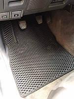 Toyota Yaris 2012↗ гг. Полиуретановые коврики (EVA, черные) 2015-2020︎